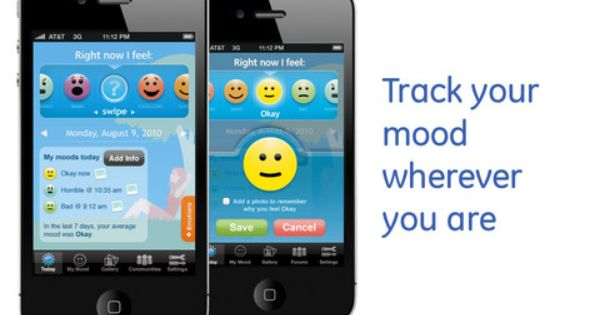 iphone mood tracking app