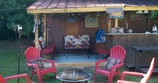 Backyard Tiki Hut Tiki Bbq Amp Luau Pinterest Tiki Hut Backyard And Outdoor Decor