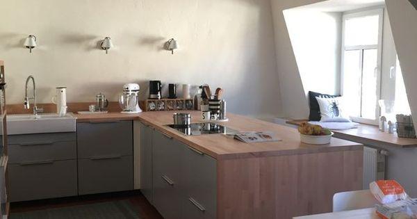 Die neue Küche...IKEA Kitchen Veddinge grey | Kitchens | Pinterest ...