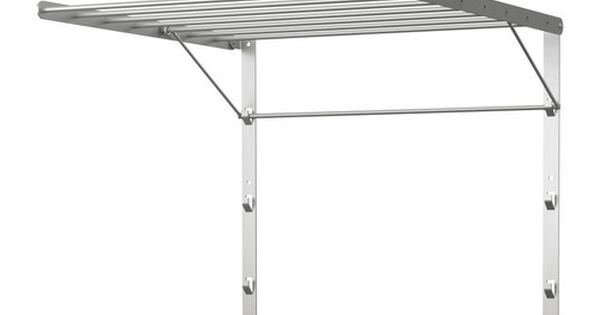 Grundtal Drying Rack Wall Ikea Adjustable To 3 Different
