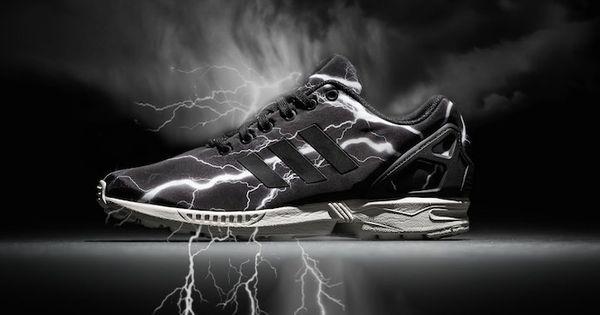 Adidas Zx Flux Lightning Bolt