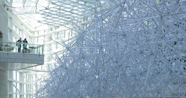 "BALLISTIC ARCHITECTURE MACHINE, WINTERGARDEN INSTALLATION SHENYANG CHINA: ""the project was borne out"