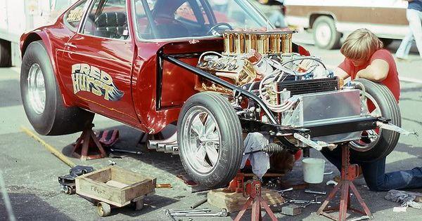 Fred hurst opel gt gasser drag racing a fx aa fa aa for Garage opel bessancourt 95