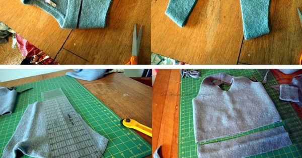 Felted Bag: DIY: Interesting Easy Craft Ideas