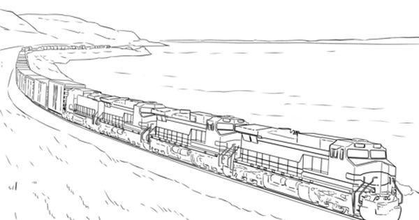 Detailed Train Coloring Pages Train Coloring Pages Coloring Pages Inspirational Coloring Pages