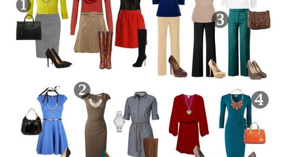 Business casual outfits. I would totally wear ALL of these. Haha