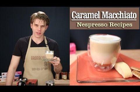 how to make caramel macchiato with espresso machine