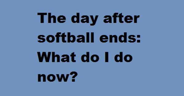 Softball problems :)