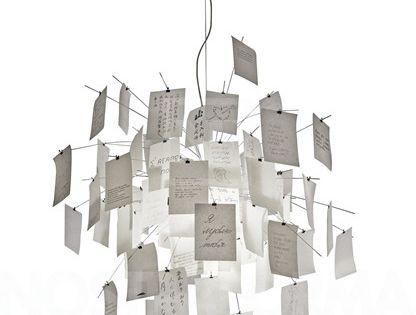 Amazing Zettel uz lampe Pendel cm Pendel Ingo Maurer Leilighet Pinterest