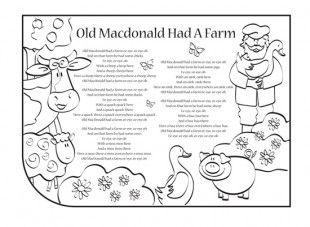 29++ Old macdonald had a farm coloring page download HD
