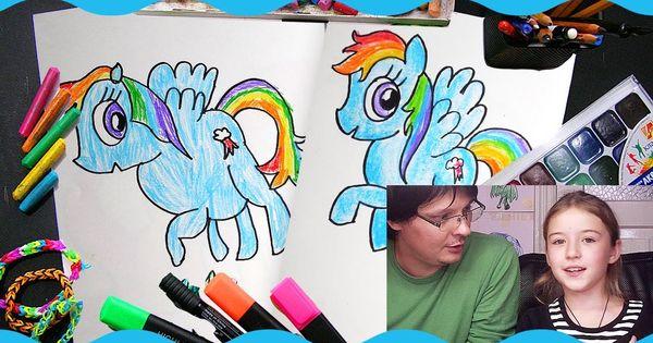 Рисунок пони карандашом - 977