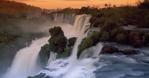 Full Hd Nature Wallpaper 1080p Desktop With Cascades Of The Iguacu