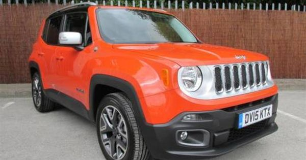 used 15 reg orange black jeep renegade 1 6 multijet opening edition 5dr for sale on rac cars. Black Bedroom Furniture Sets. Home Design Ideas