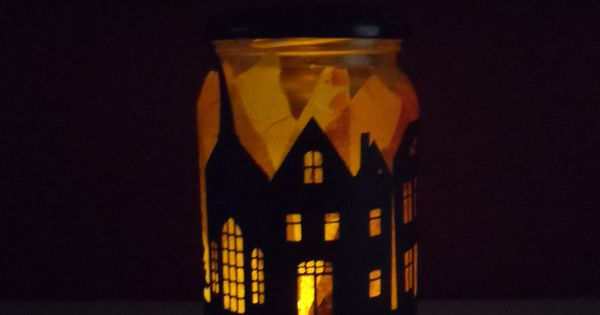 Classroom Ideas For New Years ~ The great fire of london craft for kids tissue paper and