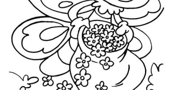 Coloring Pages Printable Spring Spring Coloring
