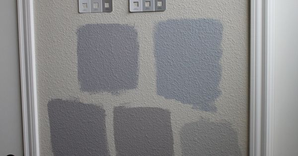 Painting kitchen cabinets grey - Benjamin Moore Revere Pewter 2nd To Last Row Right