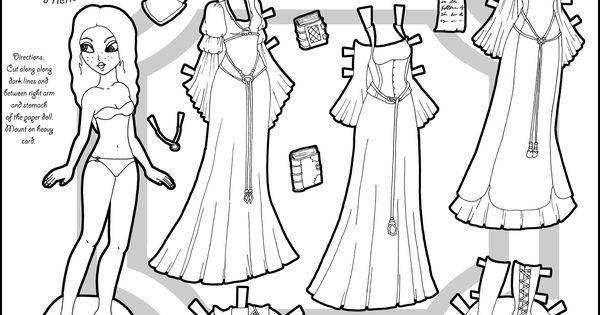 marisole monday coastal princess dolls printable paper and color sheets. Black Bedroom Furniture Sets. Home Design Ideas