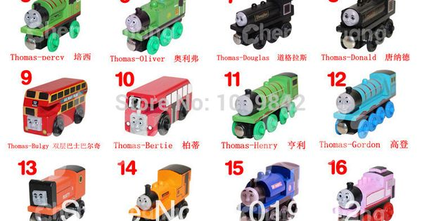 Thomas The Train Engines Names 2014 New Original Thomas