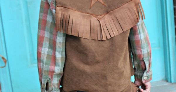DIY: Kids Costume - Cowboy Chaps and Vest
