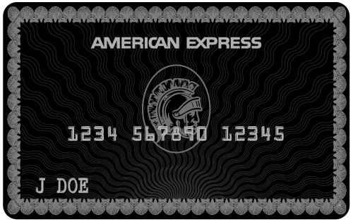 Top 10 Most Exclusive Black Cards You Didn T Know About American Express Black Card American Express Black American Express Card
