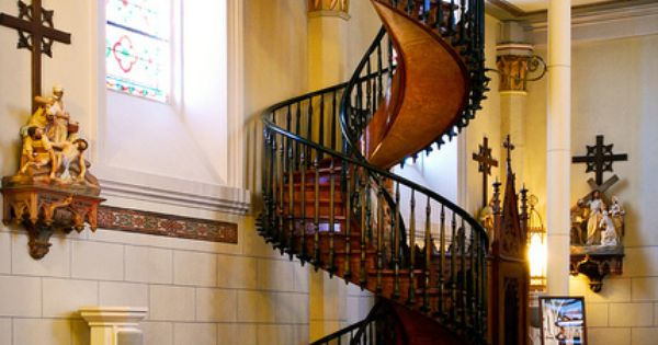 miraculous stair | Loretto Chapel, Santa Fe, New Mexico; by sam scholes