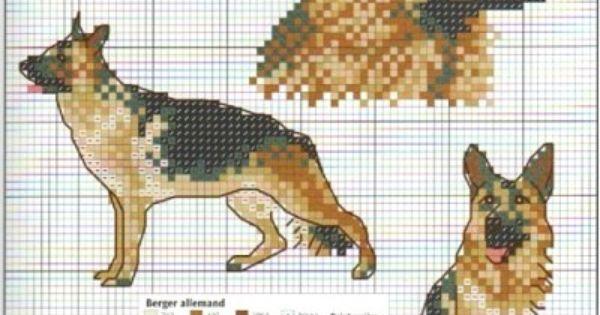 German Shepherd Cross Stitch Freebies All You Need Is