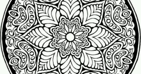 Mosaic Coloring Pages For Adults Picture 5