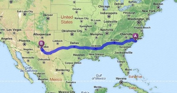 Official Mapquest Maps Driving Directions Live Traffic >> Driving Directions from Wilmington, North Carolina to Las