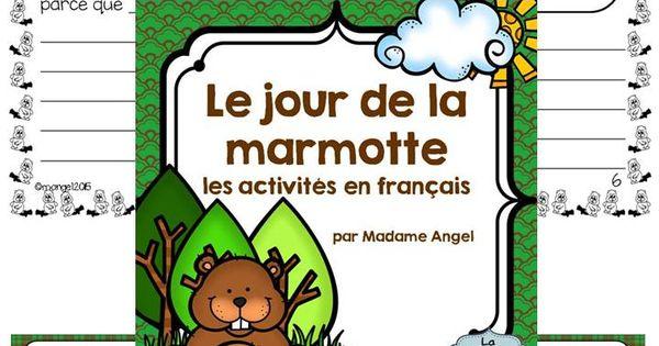Jour De La Marmotte: Groundhog Day Activities In French