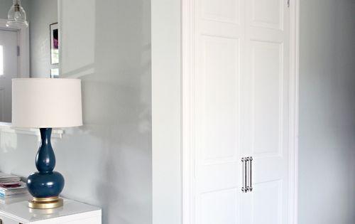 38 Closing Off The Coat Closet From Bi Fold Door To Hinged Swing Door Bi Fold Doors
