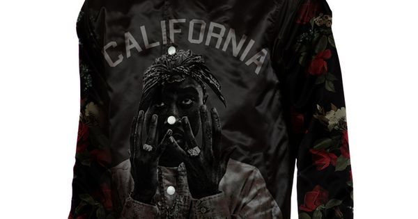 Credo Clothing Tupac Quot California Love Quot Satin Varsity