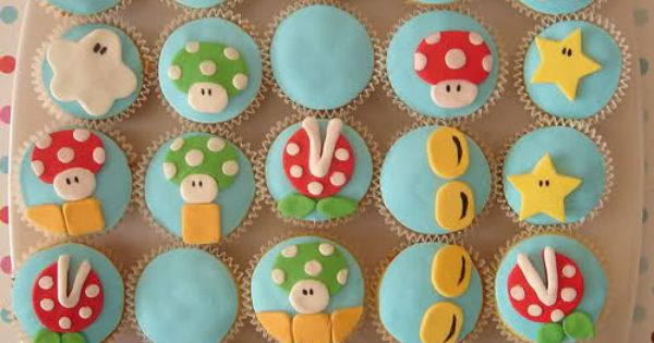 Super Mario cupcakes   Cupcakes and Cakepops   Pinterest   Cupcake