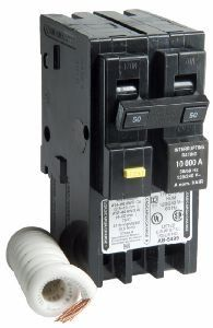 50 Amp Hom250gfic Two Pole Gfci Circuit Breaker For Square D