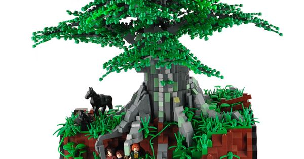 Zo kan het ook: Amazing Lord of the Rings Lego Diorama -