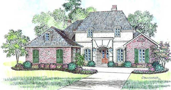 I love this home plan dampierre style http www for Acadiana home designs