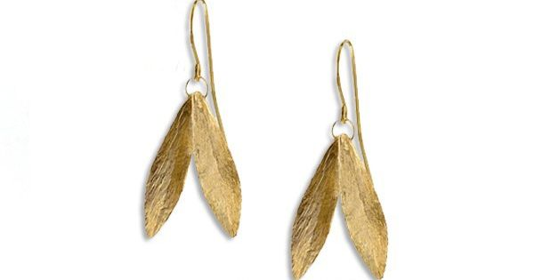 leaf earrings style leaves kate