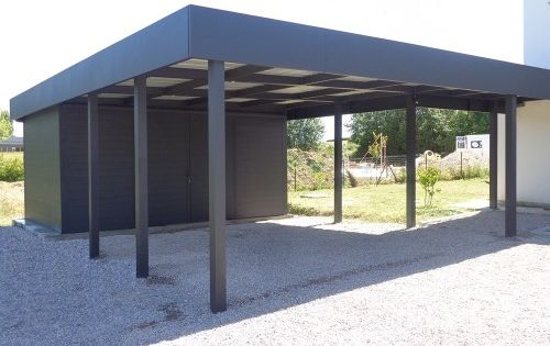 carport aluminium concept construit et installe des. Black Bedroom Furniture Sets. Home Design Ideas