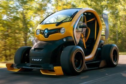 Renault Twizy F1 Review Renault Electric Cars Concept Cars
