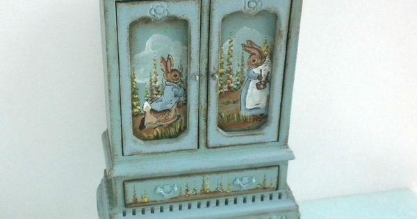 Karen markland peter rabbit beatrix potter bunny