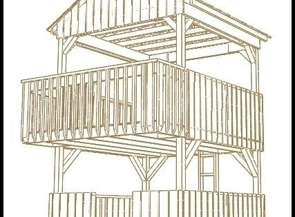 Simple playhouse plans jungle gym plans plans can for Jungle gym plans