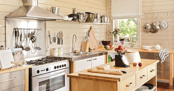 Cocina mobiliario similar al modelo varde de ikea igual - Modulos para cocina ...