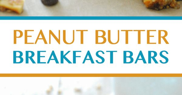 Peanut butter breakfast, Breakfast bars and Low carb on Pinterest