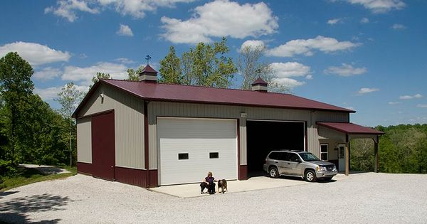Pole barn pics rv storage pole barn garage monrovia for Barn home builders indiana