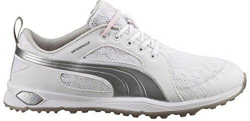 PUMA BioFly Mesh Golf Shoes 2016 Ladies WhitePuma Silver