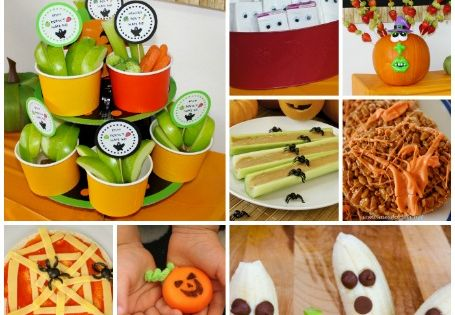 Classroom halloween party snacks jack o classroom and for Halloween food ideas for preschoolers