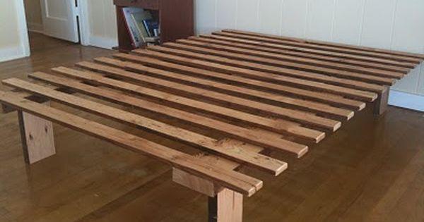 Very Very Simple Bed Frame Simple Bed Frame Simple Bed Diy