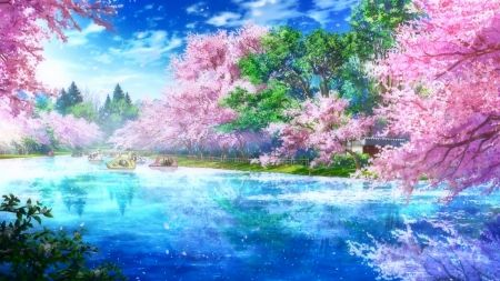 Anime Sky Wallpaper View Beautiful Background In 2020 Scenery Wallpaper Anime Scenery Wallpaper Anime Backgrounds Wallpapers