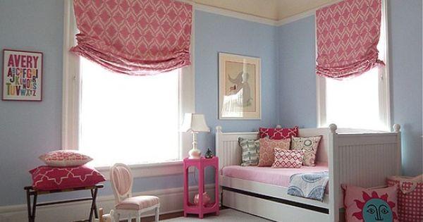 "Girls bedroom. Perfect ""big girl"" room"