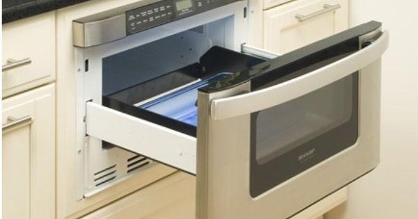 Kb 6524ps Sharp 24 Easy Open Microwave Drawer Stainless Steel Built In Microwave Microwave Drawer Kitchen Design