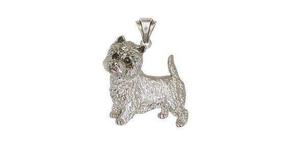 Westie Jewelry Westie Pendant Jewelry Sterling Silver Handmade